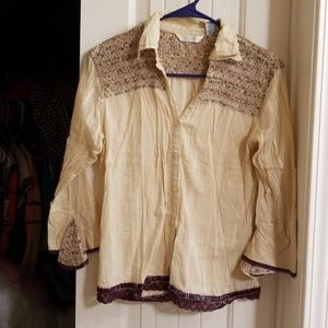Adorable Victorian style shirt